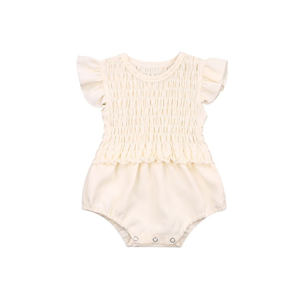 Ruffles Pleat Bodysuit