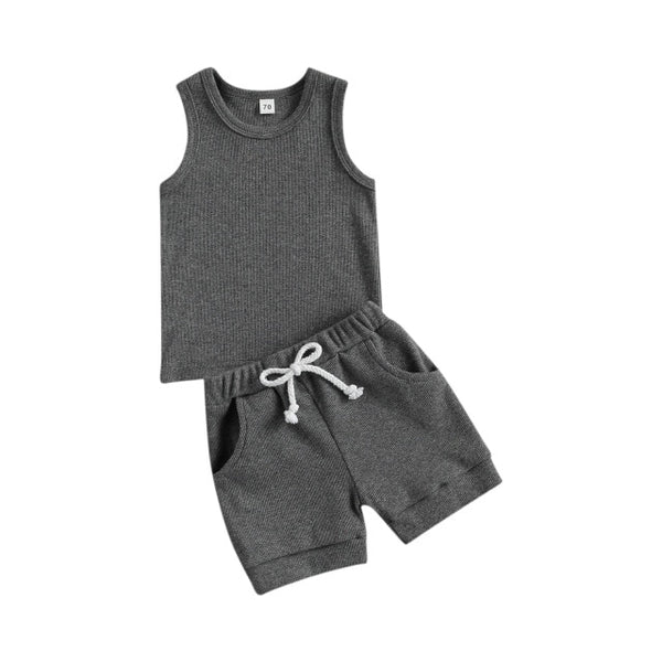BASICS Everyday Ribbed Tank Set