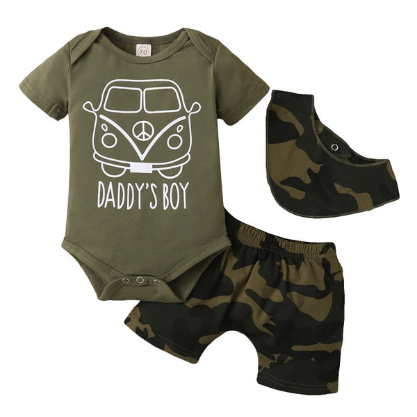 Daddy's Boy Caravan Set