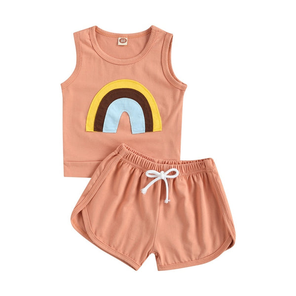A Summer Rainbow Tank Set