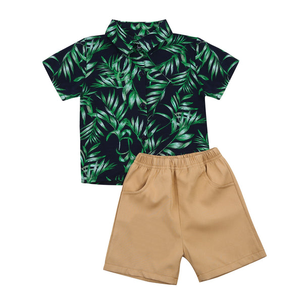 Palms Collared Set
