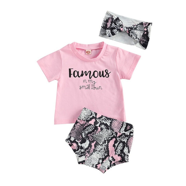Famous 3 Piece Bloomers Set