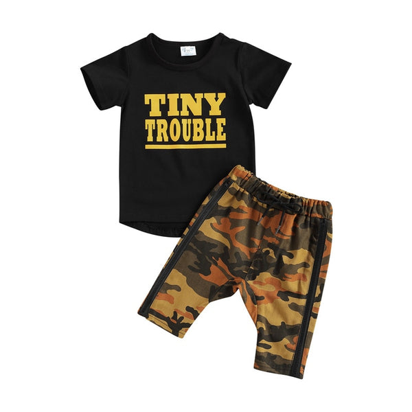 Tiny Trouble Camo Set