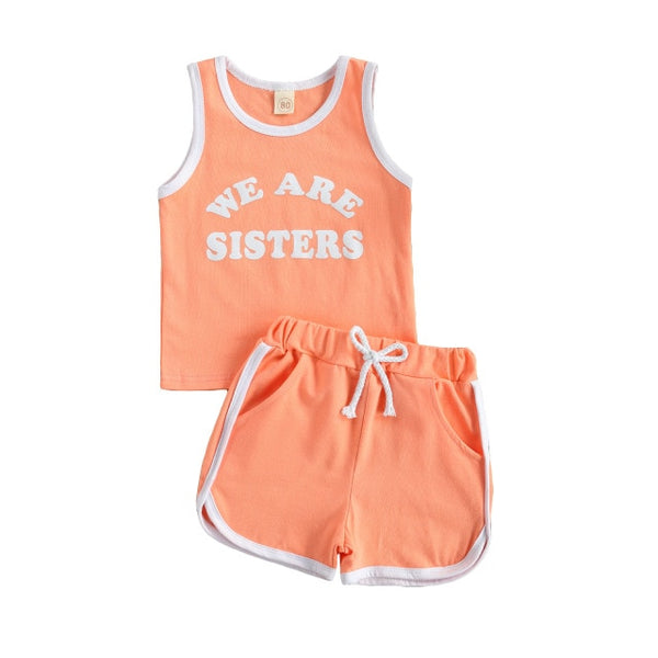 WE ARE SISTERS Tank Set
