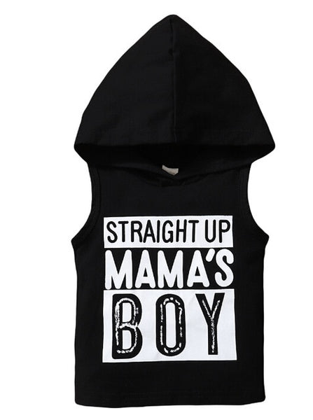Baby Boys Statement Tank Hoodie Collection