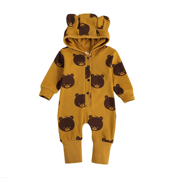 Brown Bear Romper