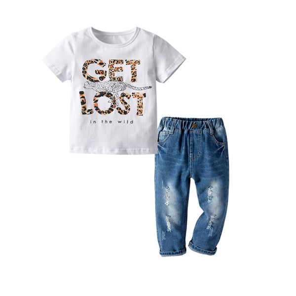 Get Lost Denim Set