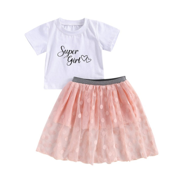 Super Girl Tutu Set
