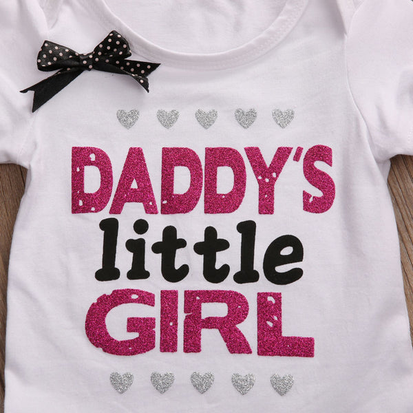 """Daddy's Little Girl"" Short-sleeve Bodysuit"
