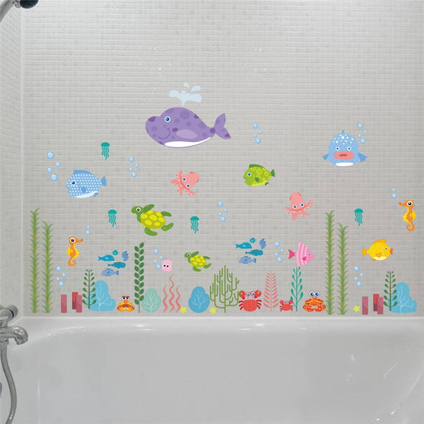 """Sea Life"" Wall Decal"