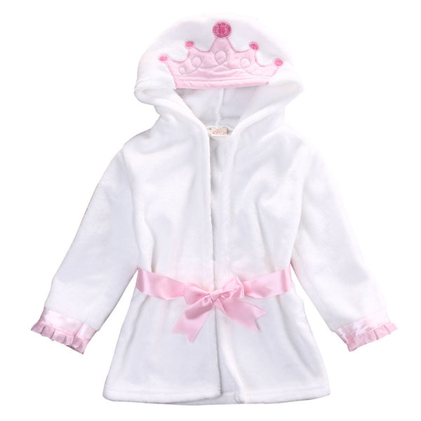 "Animal Hooded ""Fleece' Robe"