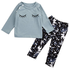 "2 Piece ""Eyelash"" Splatter Set"
