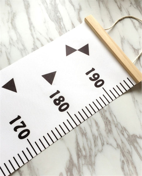 "Nordic ""Simple"" Height Chart Wall Hanging"