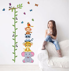"""Cute Small Animals"" Growth Chart Ruler"