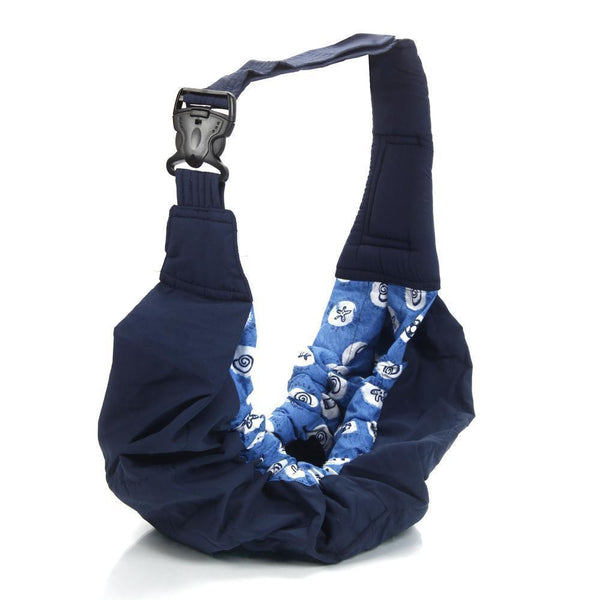 """Cuddle Time"" One Shoulder Baby Sling/Nursing Pouch"