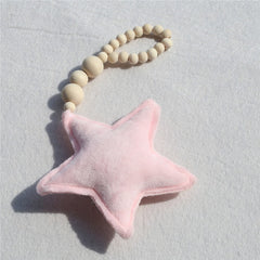 "Nordic ""Stars and Poms"" Ornaments"