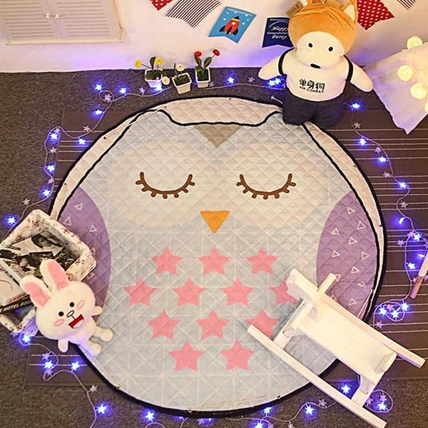"""Pretty Owl"" Play and Go Storage Mat"