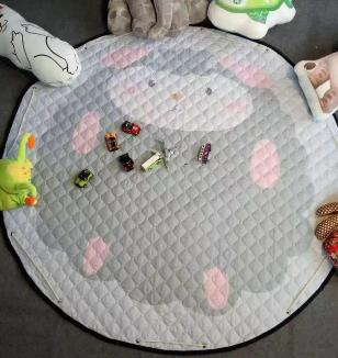 """Sheep"" Play and Go Storage Mat"