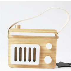 "Assorted ""Wooden Radio"" Nordic Figurine"