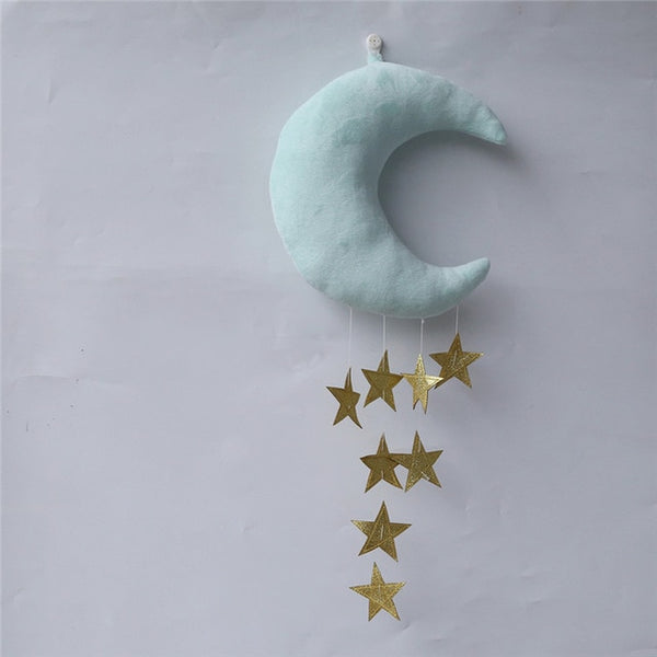 "Nordic ""Moon and Stars"" Ornaments"