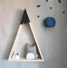 "Assorted ""Nordic Mountain"" Hanging Shelves"