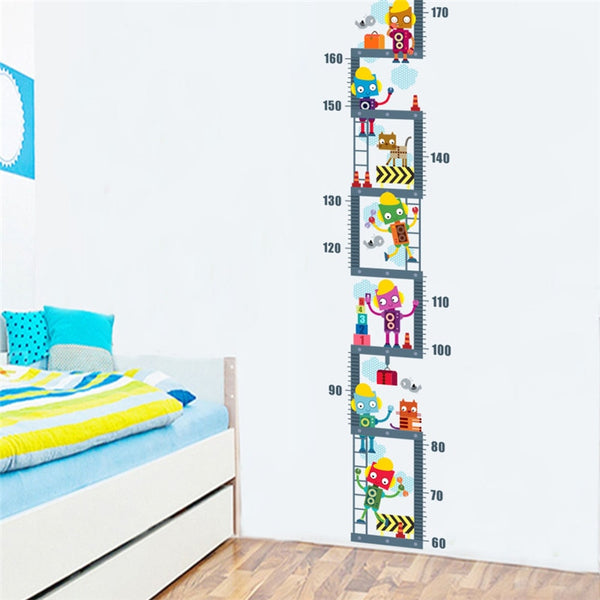 """Robots"" Boys Growth Chart Ruler"