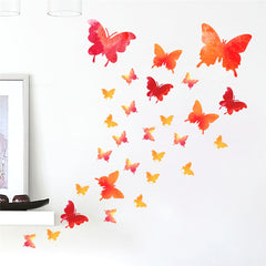 """Butterflies Fly"" Girls Wall Decal"