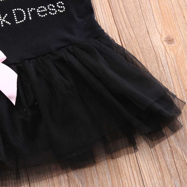"""Little Black Dress"" Ballgown"