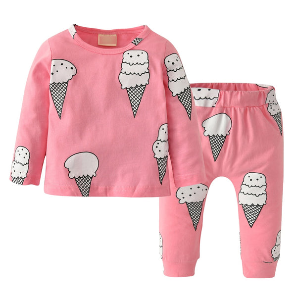 "2 Piece ""Icecream Cone"" Set"