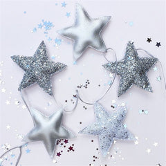 """Stars and Moon"" Wall Garland"