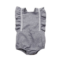 """Worksuit Girl"" Baby Romper"
