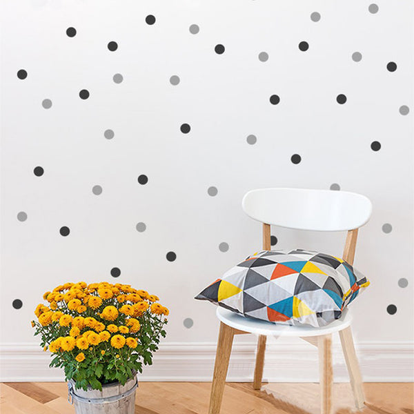 "140 Pieces ""Polka Dots"" Wall Decal"