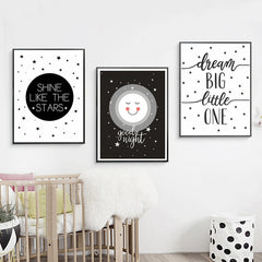 """Night Night"" Assorted Children's Wall Art"
