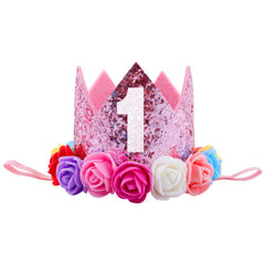 """1st"" Birthday Princess Crown"