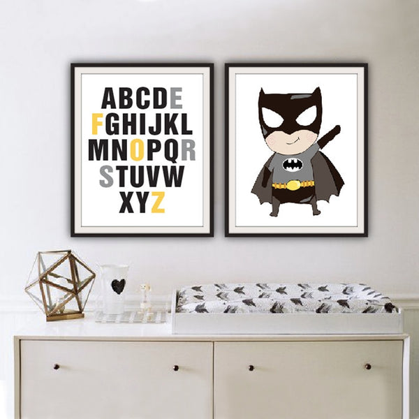 """Batman"" Children's Wall Art"