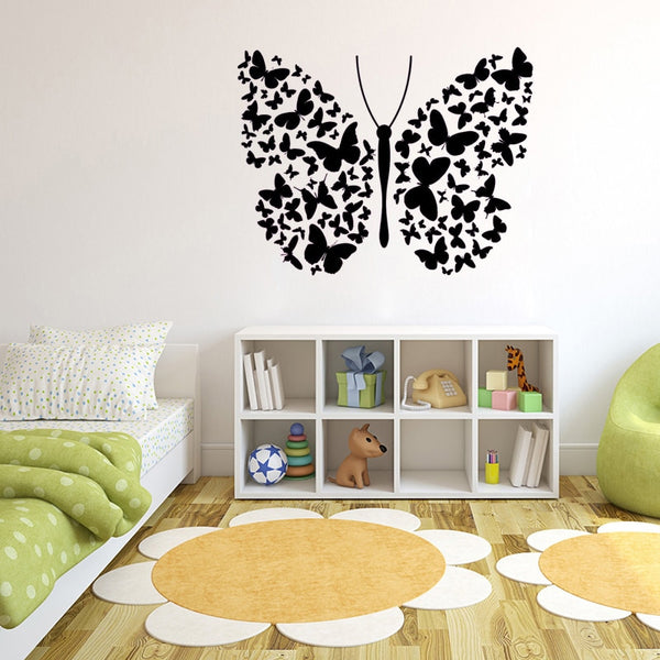 """Butterfly"" Girls Wall Decal"