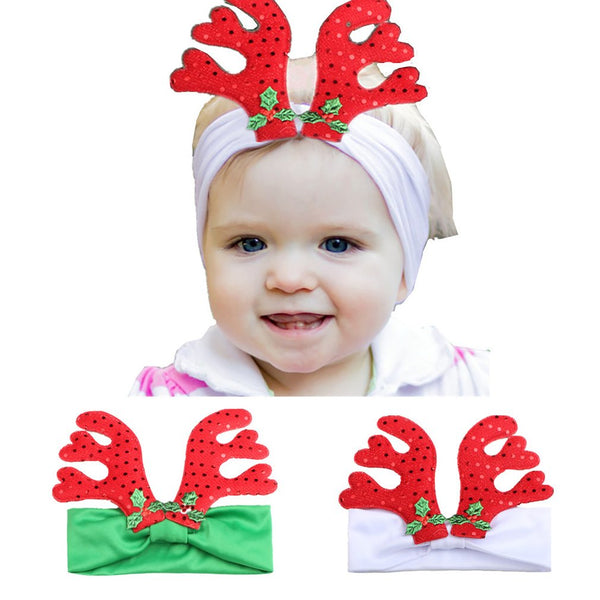 "Girls ""Reindeer"" Bandana"