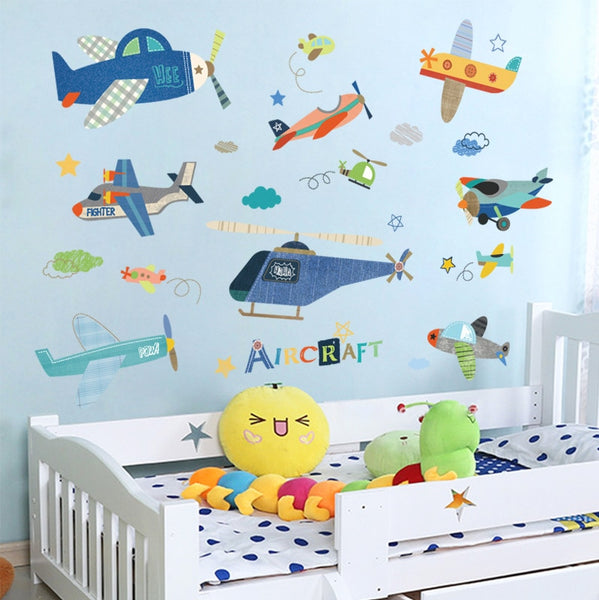 """Planes"" Wall Decals"
