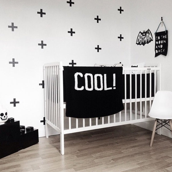 """Cross"" Wall Sticker Decals"