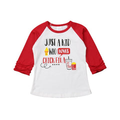 """Chick-fil'A"" Lovers Raglan Tee"