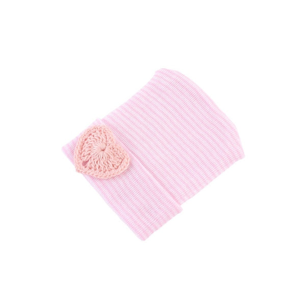 "Newborn ""Hearts"" Hospital Beanie"