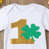 """Number 1 St. Patty's"" Girls Tutu Set"