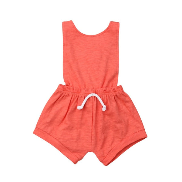 """The Basic"" Backless Skort Romper"