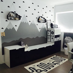 """Little Cloud"" Solid Wall Decals"