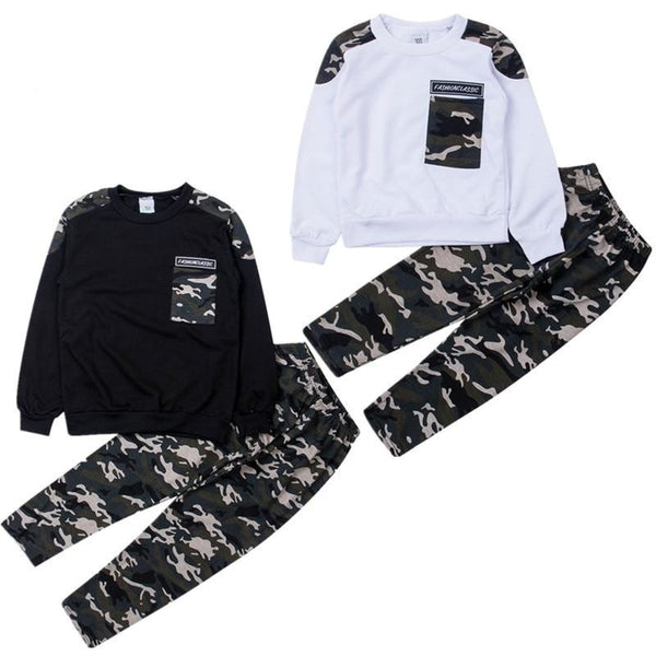 """Cute Camo"" Toddler Boy Set"
