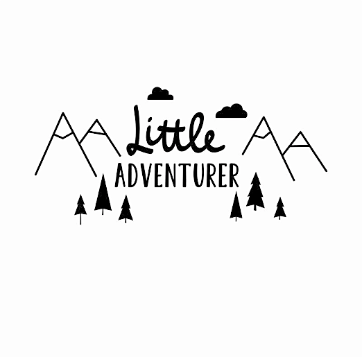 """Little Adventurer"" Wall Decal"