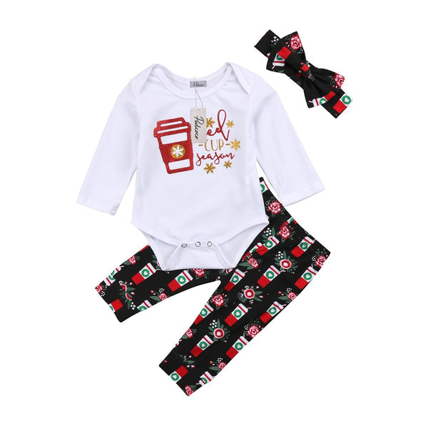 """Red Cup Season"" Girls 3-Piece Set"
