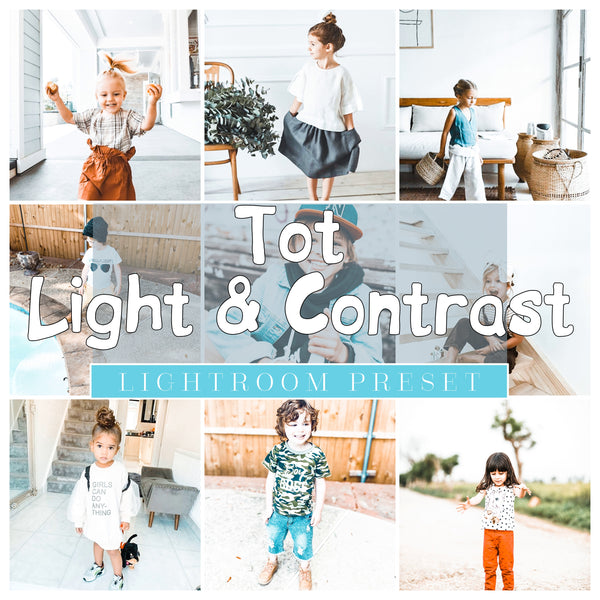 TOT LIGHT AND BRIGHT/LIGHT AND CONTRAST PRESET PACK - SET OF 2 PRESETS