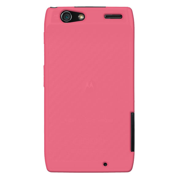 sneakers for cheap 17794 a8cda AMZER Silicone Skin Jelly Case for Motorola DROID RAZR - Baby Pink