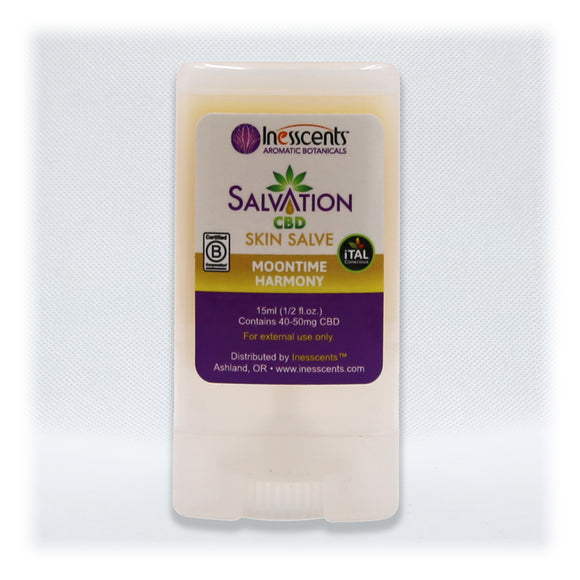 Salvation - Moontime Harmony Skin Salve 0.5 oz Travel Stick
